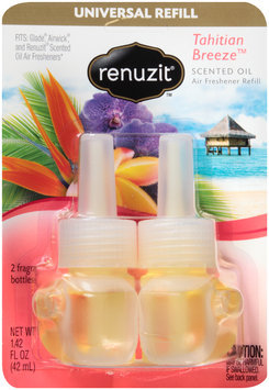 Renuzit® Tahitian Breeze™ Scented Oil Air Freshener Refill 2 ct Carded Pack