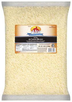 Alto® Diced 4 Cheese Blend Cheese 5 Lb Bag