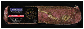 PrairieFresh® Natural Extra Lean Pork Tenderloin Rubbed with Italian Style Herb Seasonings 2 ct.