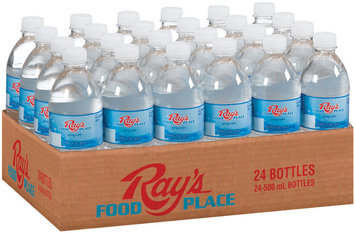 Ray's Food Place 500 mL Water 24 Ct Tray