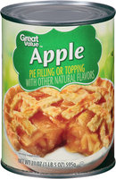 Great Value™ Apple Pie Filling or Topping 21 oz. Can