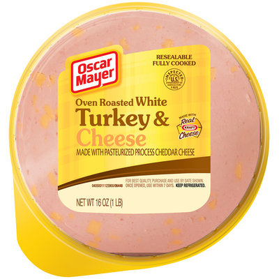 Oscar Mayer Oven Roasted White Turkey & Cheese 16 oz. Pack
