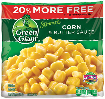 Green Giant® Steamers Corn & Butter Sauce 14.4 oz. Bag