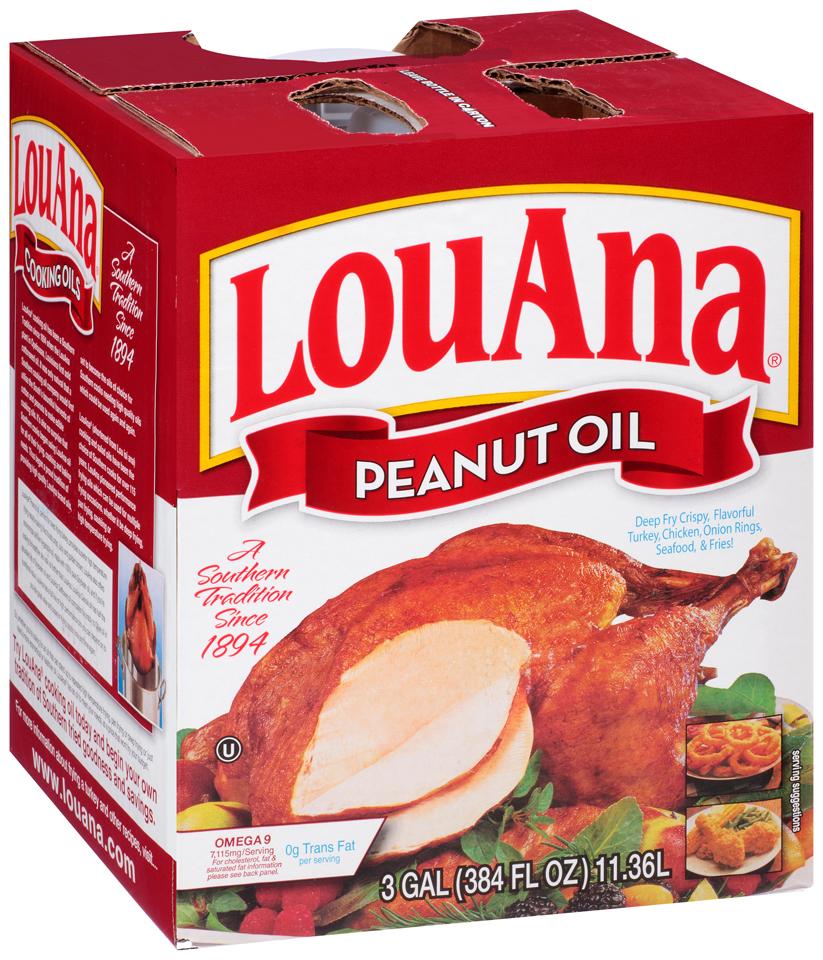 LouAna® Peanut Oil 384 fl. oz. Jug