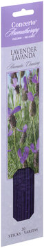 Concerto® Aromatherapy Lavender Incense Sticks 20 ct. Carded Pack