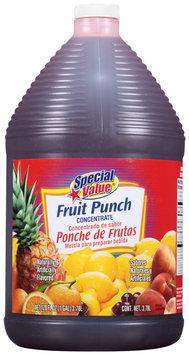 Special Value® Fruit Punch Concentrate 128 fl. oz. Bottle