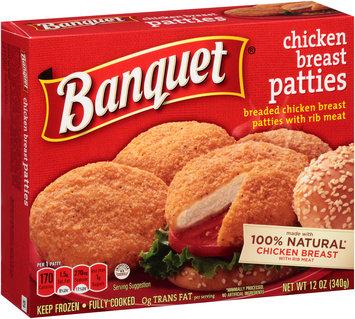 Banquet® Breaded Chicken Breast Patties