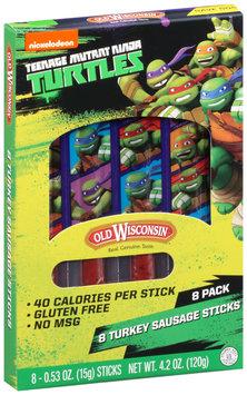Old Wisconsin® Teenage Mutant Ninja Turtles 4.2 oz., 8-count Turkey Sausage Snack Sticks