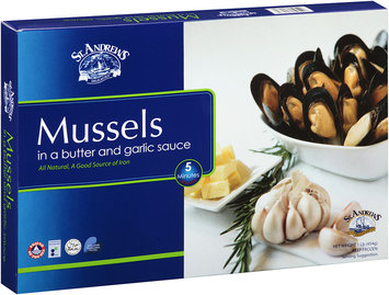 St. Andrews Delicacies® Mussels 1 lb. Box