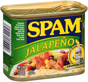 Spam® Jalapeno Canned Meat 12 oz. Pull-Top Can
