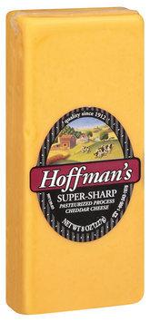 Hoffman's Super-Sharp Cheese 8 Oz Brick