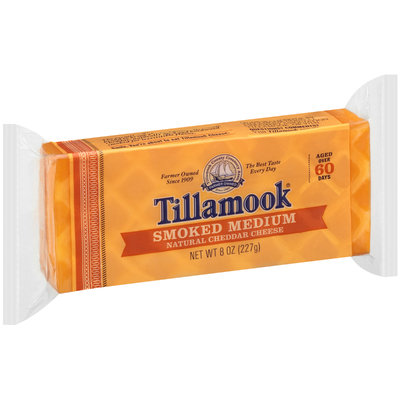 Tillamook® Smoked Medium Cheddar Cheese 8 oz. Brick