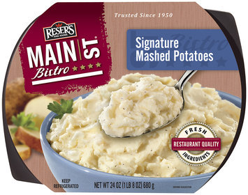 Reser's Fine Foods Creamy Deluxe Mashed Family Size Potatoes 24 Lb Tray
