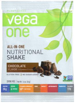 Vega™ One Plant-Based Chocolate Flavor Nutritional Shake Drink Mix 1.4 oz. Packet