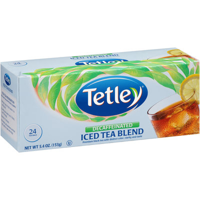 Tetley® Decaffeinated Iced Tea Blend Round Tea Bags