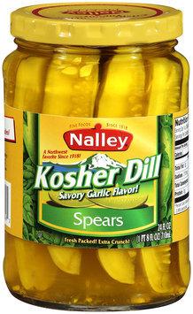 Nalley®Kosher Dill Spears 24 fl oz Jar