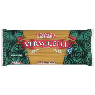 Stater Bros. Vermicelli Enriched Macaroni Product 32 Oz Bag