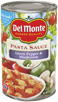 Del Monte® Green Pepper & Mushroom Pasta Sauce 24 oz. Can