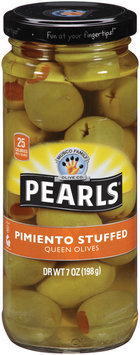 PEARLS Pimiento Stuffed Queen Olives 7 OZ JAR