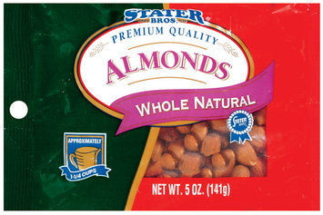 Stater Bros. Whole Natural Almonds