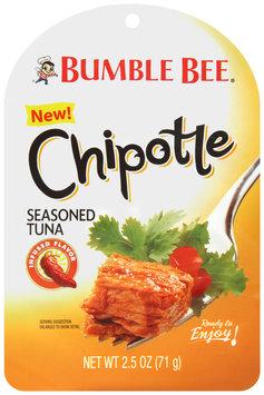 Bumble Bee® Chipotle Seasoned Tuna 2.5 oz. Pacakge