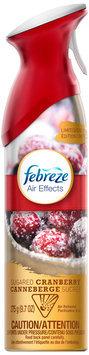 Febreze® Air Effects Sugar Cranberry Air Freshener 9.7 oz. Aerosol Can