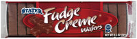Stater Bros. Fudge Creme Wafers 8.5 Oz Package