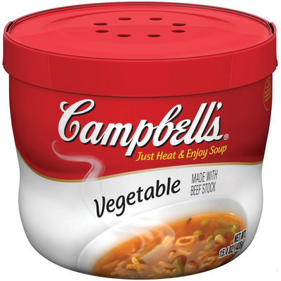 Campbell's® Vegetable Soup Microwavable Bowl