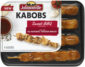 Johnsonville Sweet BBQ Chicken Kabob 11oz tray  (102490)