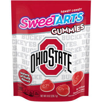 SWEETARTS Gummies Ohio State University Recloseable 8 oz. Bag