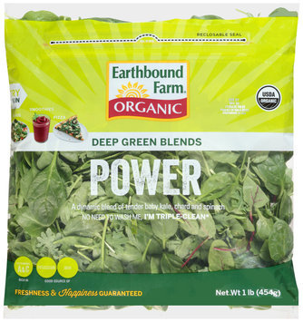 earthbound farm® organic power deep green blends