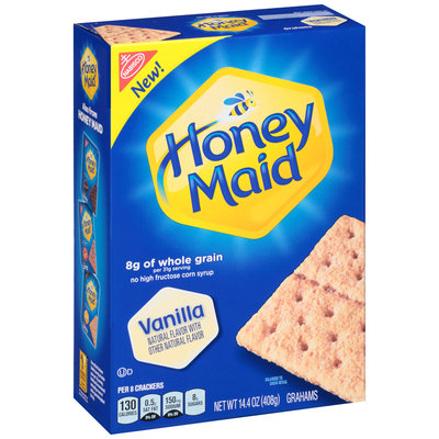 Nabisco Honey Maid Vanilla Grahams 14.4 oz. Box
