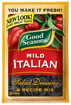Good Seasons Mild Italian Salad Dressing & Recipe Mix 1 Oz Packet