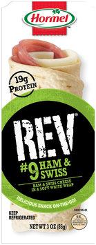 Hormel™ Rev® #9 Ham & Swiss Snack Wrap 3 oz. Tray