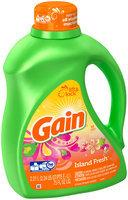 Gain Liquid Laundry Detergent, Island Fresh Scent, 48 Loads 75 Fl Oz