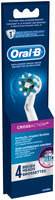 CrossAction Oral-B CrossAction Replacement Electric Toothbrush Head Refills 4 Count
