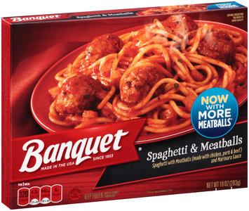 Banquet® Spaghetti & Meatballs 10 oz. Box