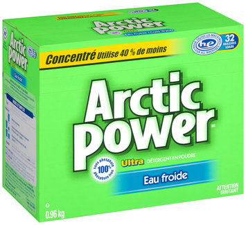 Arctic Power™ Ultra Cold Water Powder Laundry Detergent 0.96kg Box
