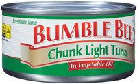 Bumble Bee® Premium Chunk Light Tuna in Vegetable Oil 12 oz. Can