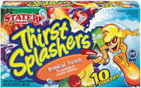 Stater Bros. Thirst Splashers Tropical Punch 6.75 Fl Oz Pouches Juice Drink 10 Ct Box