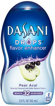 Dasani Drops® Pear Acai Flavor Enhancer 1.9 fl. oz. Plastic Bottle