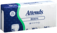 BR20 Attends® Poly Briefs Medium, 24 count