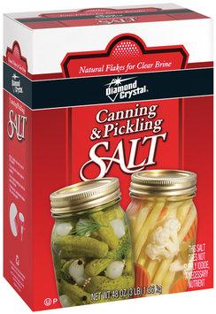 Diamond Crystal Canning & Pickling Salt 48 Oz Box