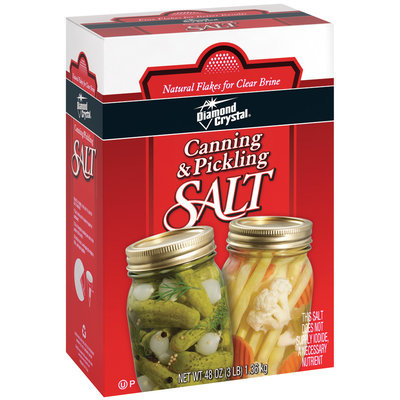 Diamond Crystal Canning & Pickling Salt 48 Oz Box