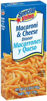 Special Value Macaroni & Cheese Dinner