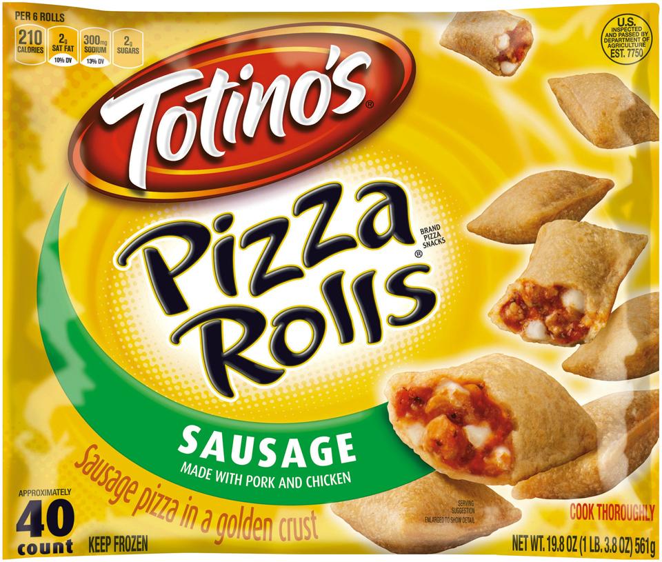 Totino's® Sausage Pizza Rolls® 19.8 oz. Bag