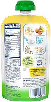 Gerber® Grabbers™ Strong Pear & Sweet Potato Oats Cinnamon Greek Yogurt 4.23 oz. Pouch