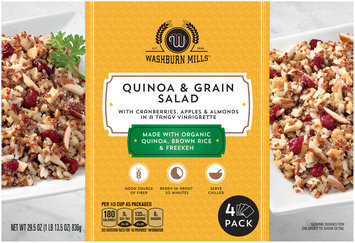 Washburn Mills™ Quinoa & Grain Salad 4 ct Box