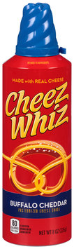 Cheez Whiz Buffalo Cheddar Cheese Snack 8 oz. Spray Can