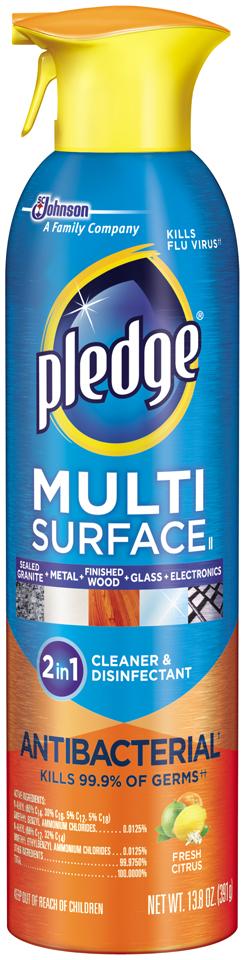 Pledge® Multi Surface Antibacterial Everyday Cleaner